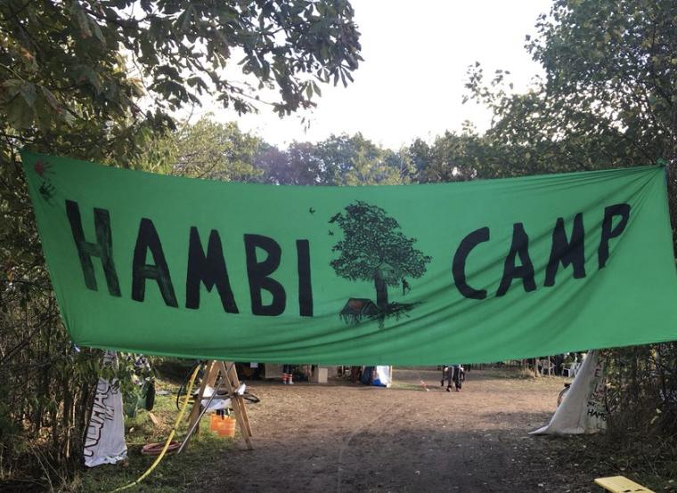 Do. 21.3.2019, Hambi Camp / Morschenich, 17:00 Uhr  Jutta Ditfurth: »Entspannt in die Barbarei – Ökologie und Rechte«