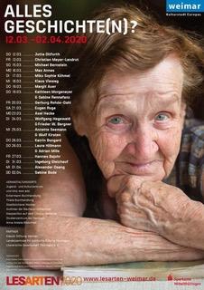Do. 12.3.2020 WEIMAR 19:30 Uhr  Jutta Ditfurth: »Haltung und Widerstand. Eine epische Schlacht um Werte und Weltbilder« Eröffnungsveranstaltung des Lesefestivals »LesARTen«