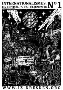 Fr. 8.6.2018, 18:30–20:30 Uhr, DRESDEN,  Podium »50 Jahre 1968: Eine globale Revolte: Geschichte und Zukunftsperspektiven«  Mit: Jutta Ditfurth, Jutta Begenau, Julien Coupat (FR), Gerhard Hanloser, Detlef Hartmann, Oreste Scalzone (IT/FR) Moderation: Friederike vom IZ Dresden Mit einem Videobeitrag von Prof. John Holloway (Benemérita Universidad Autónoma de Puebla [BUAP] in Puebla/Mexiko). Im Rahmen des Festivals: »Internationalismus: Ein Festival /// Nº1« 6.-10.6.2018 Organisator*innen: Internationalistisches Zentrum Dresden  Ort: Internationalistisches Zentrum Dresden auf dem Gelände des Zentralwerks Dresden Riesaer Straße 32, 01127 Dresden